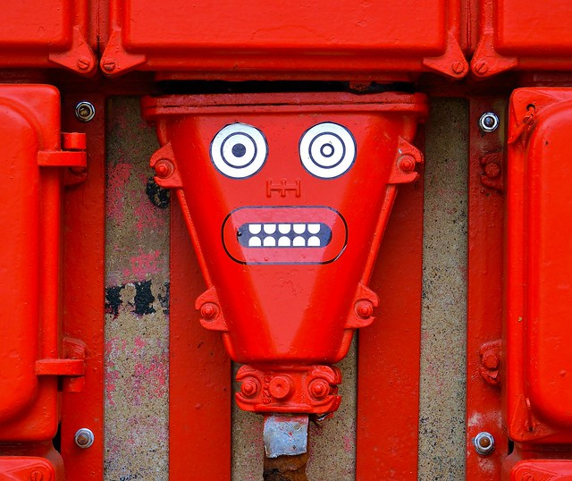 Shocking Red (grin and bear it).