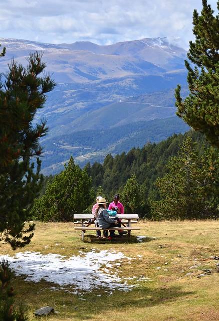 Piknik pöytä