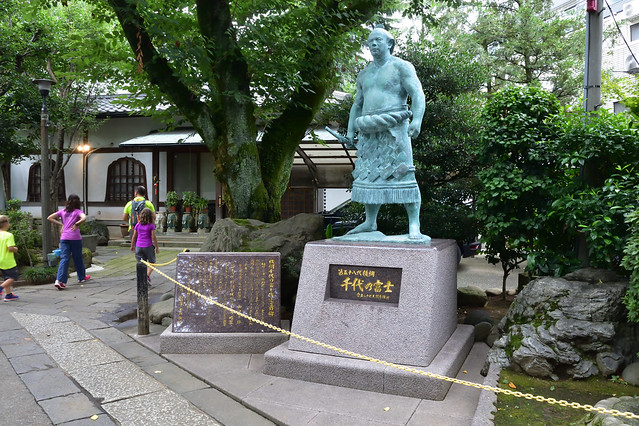 千代の富士象
