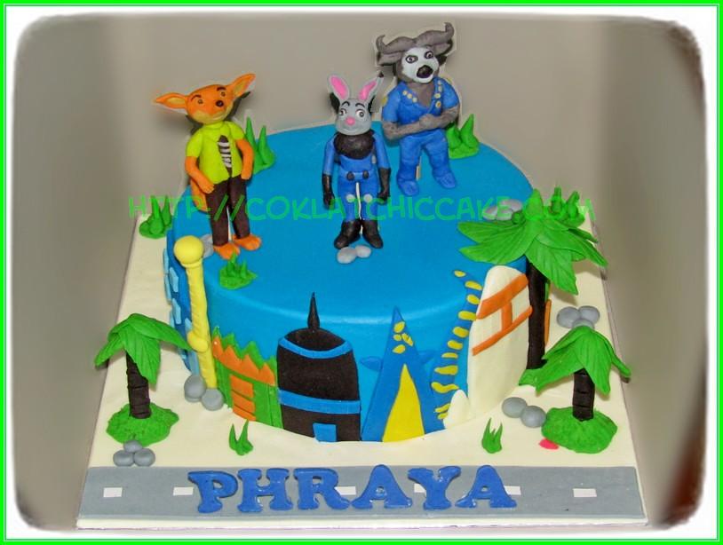 cake zootopia Phraya