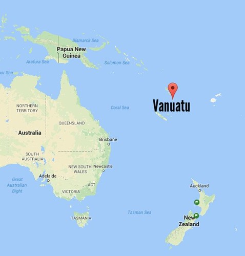 Where is Vanuatu