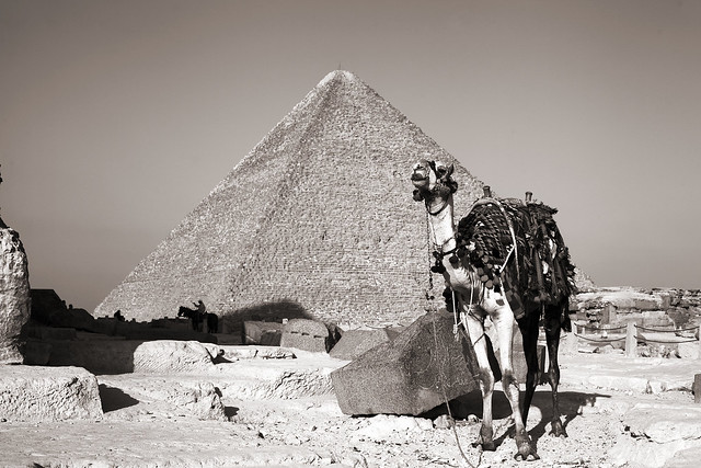 Great Pyramid of Giza also known as Pyramid of Cheops or Khufu