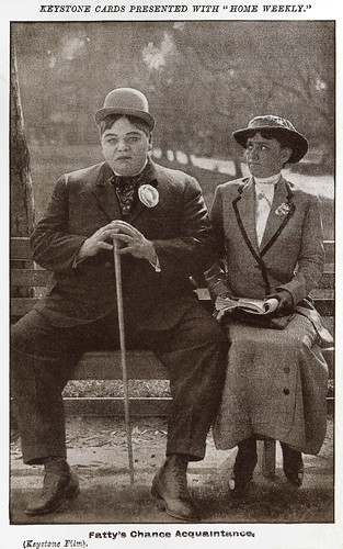 Fatty Arbuckle in Fatty's Chance Acquaintance (1915)
