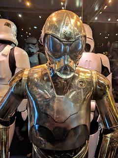 RA-7 protocol droid closeup
