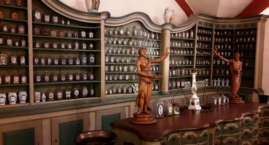 Bezienswaardigheden in Heidelberg: Schloß Heidelberg, Apothekersmuseum | Mooistestedentrips.nl