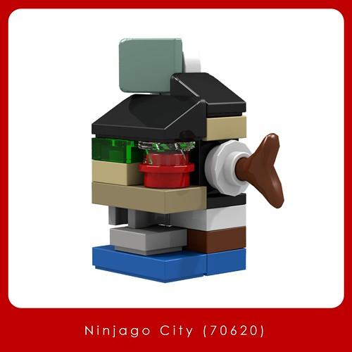 Ninjago City 70620