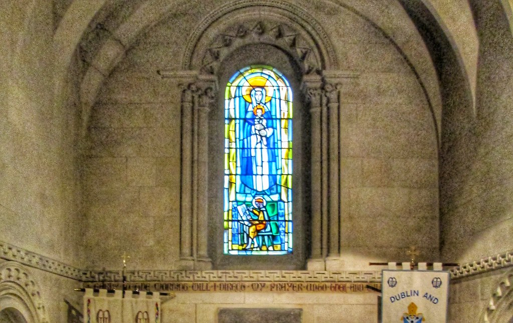 Christ Church Cathedral Stained Glass Window 1