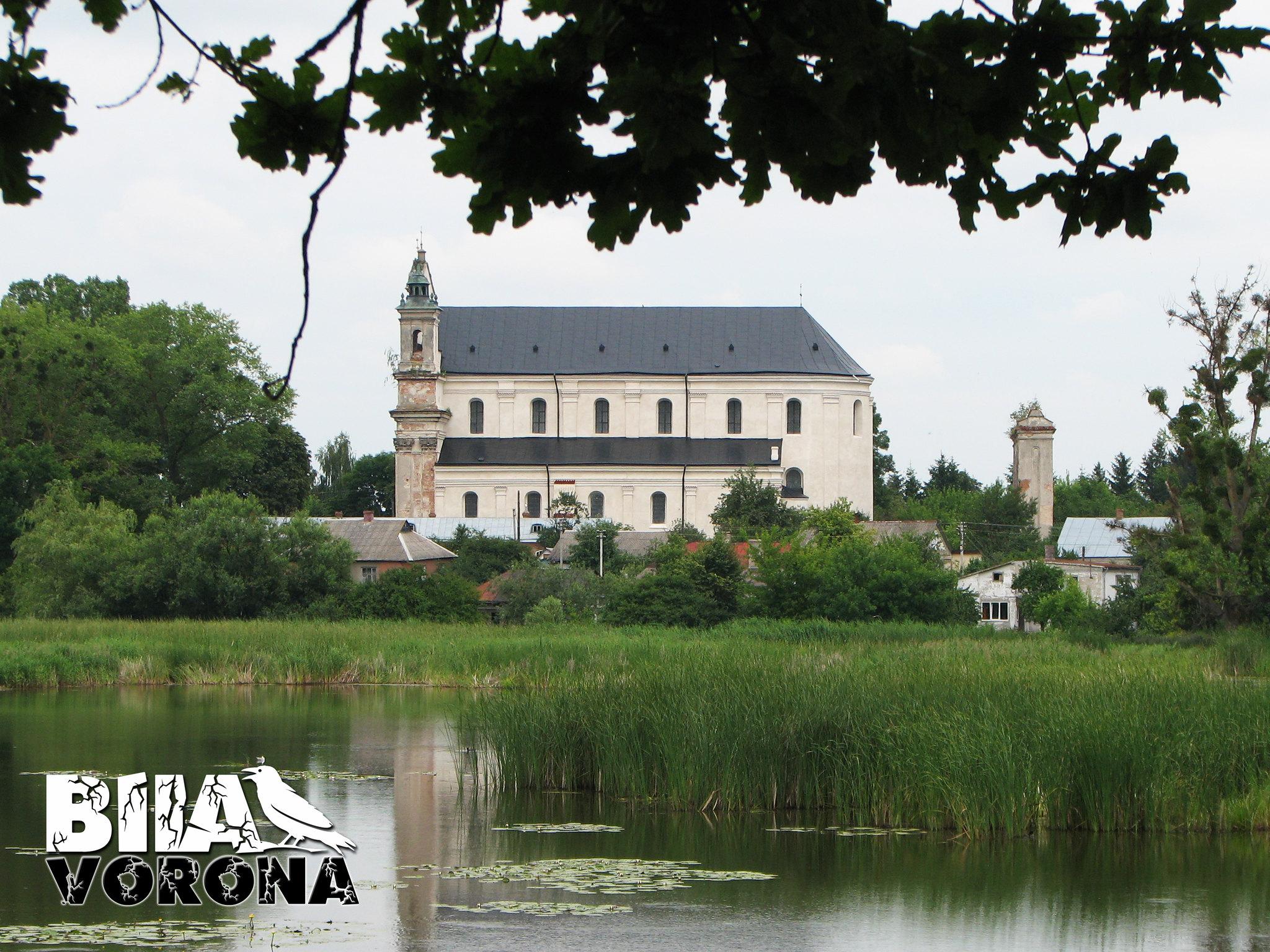 Троїцький костел, 1640 року, смт. Олика
