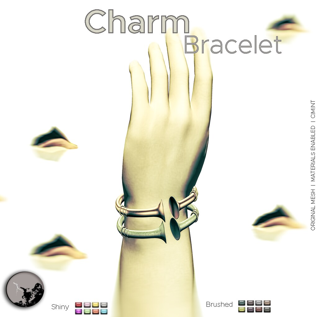 Charm bracelets @ the hidden chapter - SecondLifeHub.com