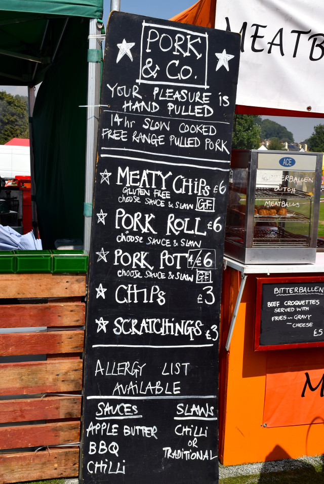Pork & Co. Menu at Love Hythe Food Festival | www.rachelphipps.com @rachelphipps