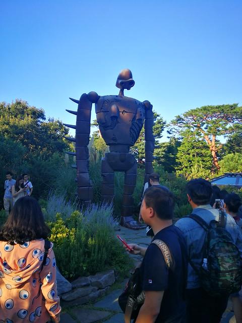 Ghibli Museum rooftop exhibit