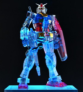ROBOT SPIRITS RX-78-2 GUNDAM VER. A.N.I.M.E. CLEAR SPEC VER. LIMITED