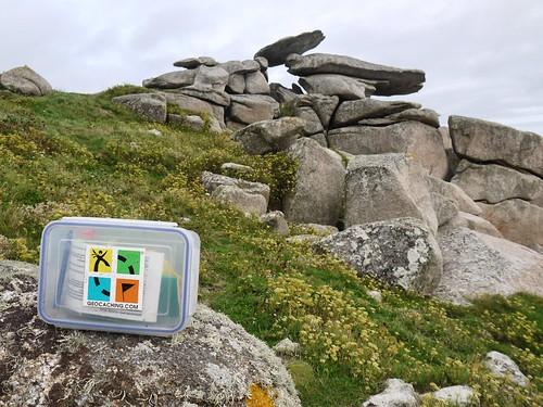 Geocache at Pulpit Rock