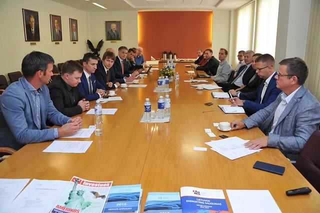 Lietuvos energijos atstovų vizitas LEI