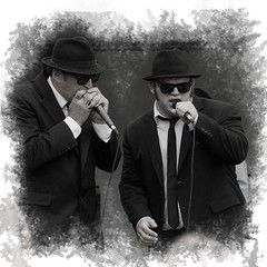 The Blooze Brothers at Cantigny Park in Wheaton, IL  8/27/17