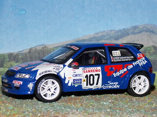 Citroën Saxo Kit Car – San Remo 1999 - IXO