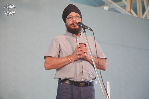 Devotional song by Lal Singh from United Kingdom