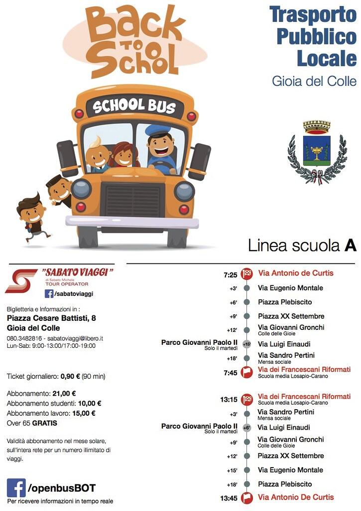 3 bus scuola liea B