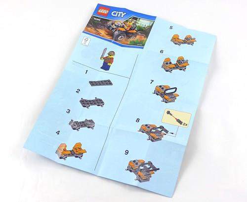 LEGO City Jungle 30355 Jungle ATV 03