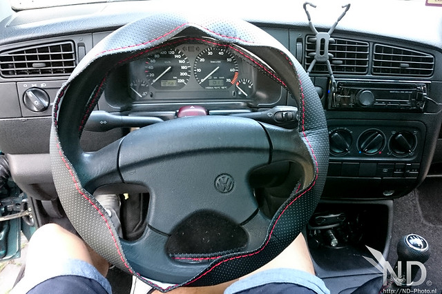 Steering Wheel cover Work in Progress / VW Golf MK3 GTI