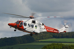 G-MCGT Agusta Westland AW189 EGPK 09-09-17