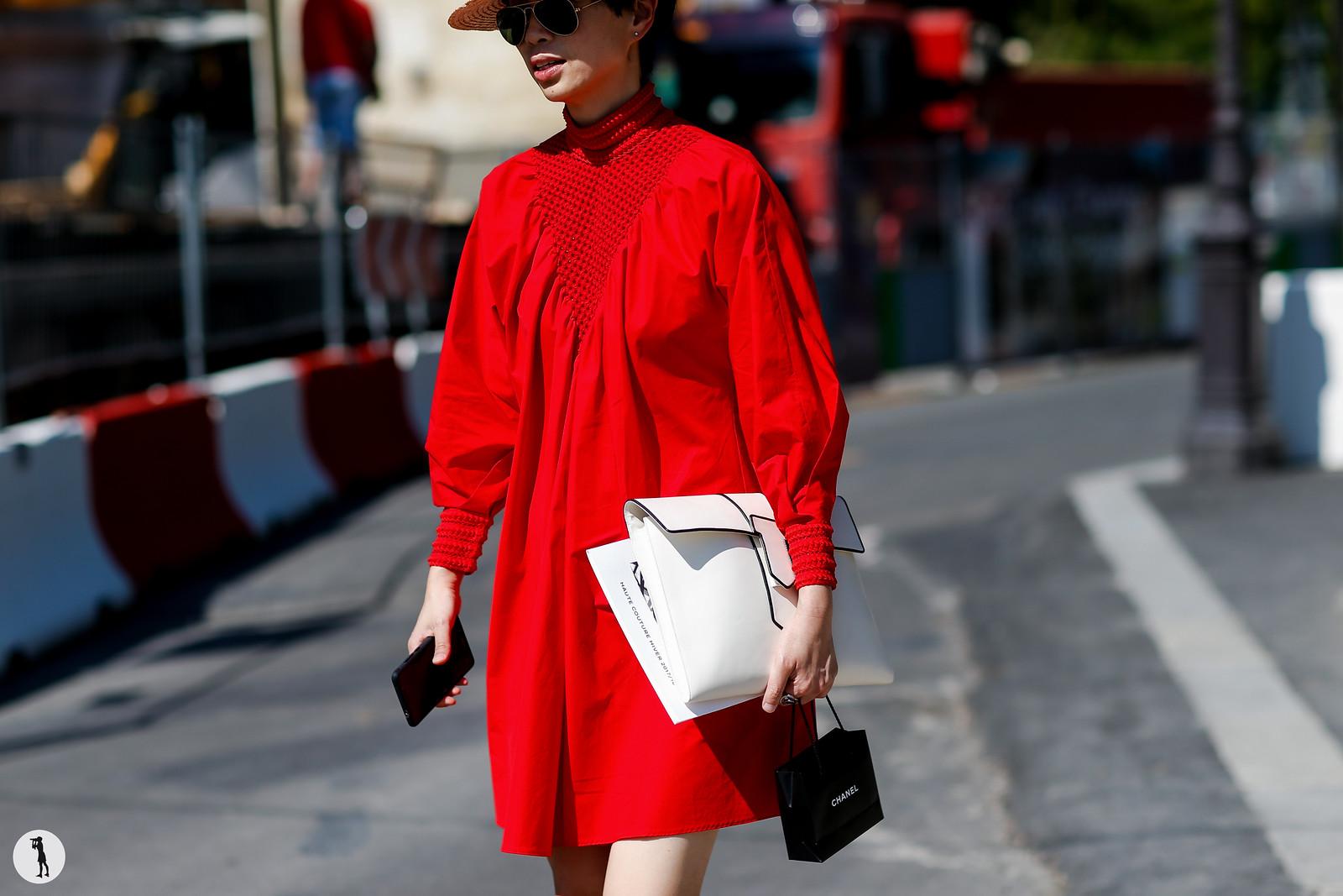 Street style - Paris Fashion Week Haute Couture FW17-18 (14)