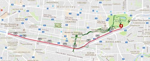 Parque Lineal Santa Catarina - Lugares para correr en Monterrey