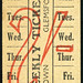 ticket - s brown glemsford 2 shilling weekly