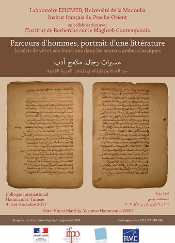 Parcours d'hommes, portrait d'une littérature : Le récit de vie et ses fonctions dans les sources arabes classiques