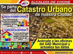Alcaldía de Chone pide a contribuyentes actualizar información de predios