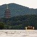 Pagode de Leifeng et le bateau Dragon- Leifeng Pagoda and the dragon boat -18/06/2017 - Hangzhou (China)