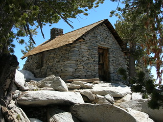 Mountaineer's Hut near the summit