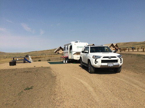Grasslands East block campsite