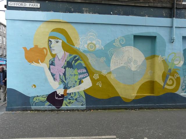 Gifford Park Mural by Kate George