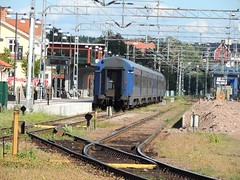 Mora C. station, Sweden, with SJ Inter City stock