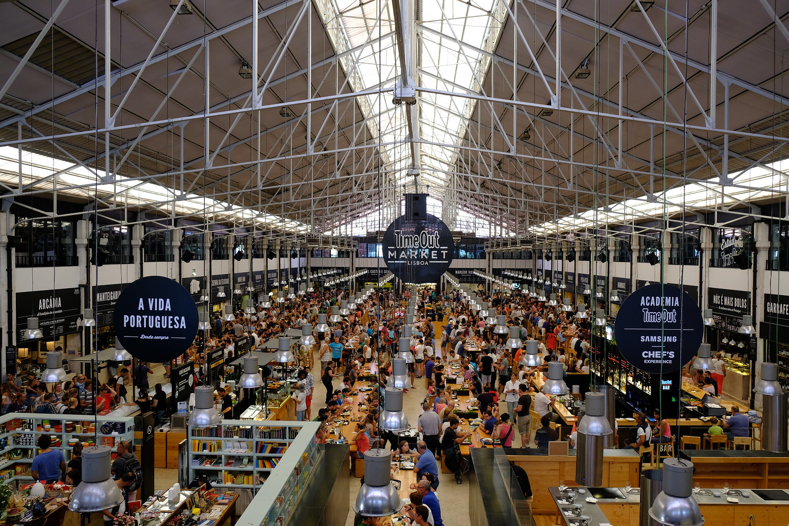 Time Out Market Interior | One Day in Lisbon