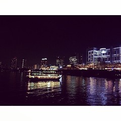 Night view of Odaiba. #nightview #cruising #tokyobay #waterfront #ship #nightcruise