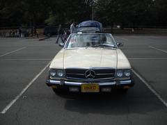 04F 1981 Merceds Benz SL-450 convertible front