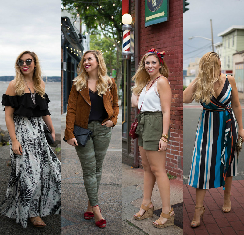 Style Fashion Outfit Inspiration September Late Summer