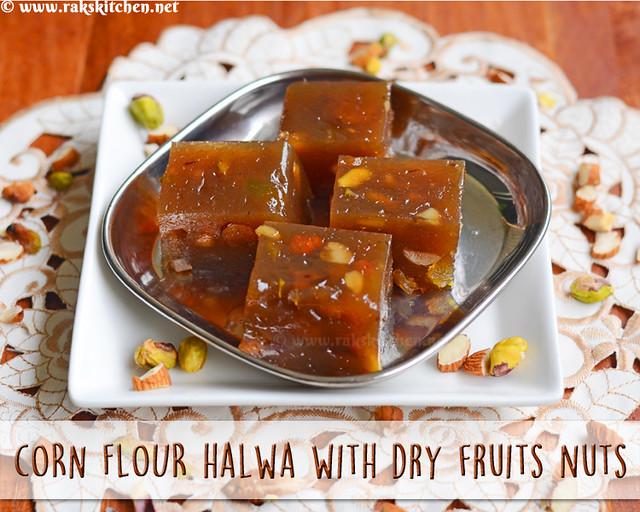 dry-fruits-corn-flour-halwa
