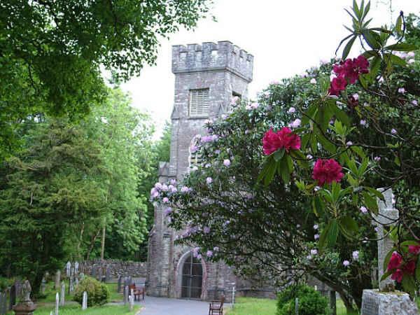 Ceredigion, CWMYSTWYTH, St Michael and All Angels (Hafod Church)