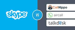Skype Vs. Virtual Phone System for Business Communication - CallHippo