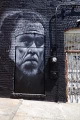Charles Bukowski Wall Portrait