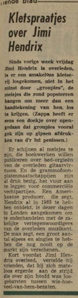 NIEUWSBLAD VAN HET NOORDEN (NETHERLANDS) SEPTEMBER 25,1970