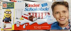 FERRERO KINDER Schokolade Minions