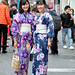 Japanese Yukata Fashion in Harajuku