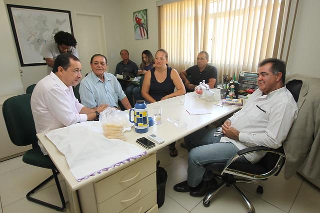 Reunião Presidente da AMAB
