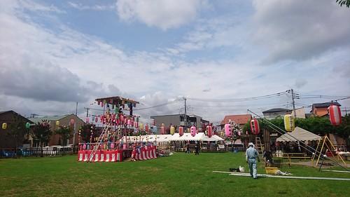 201707_郷町会納涼祭の準備