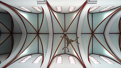 St Joseph's cathedral ceiling