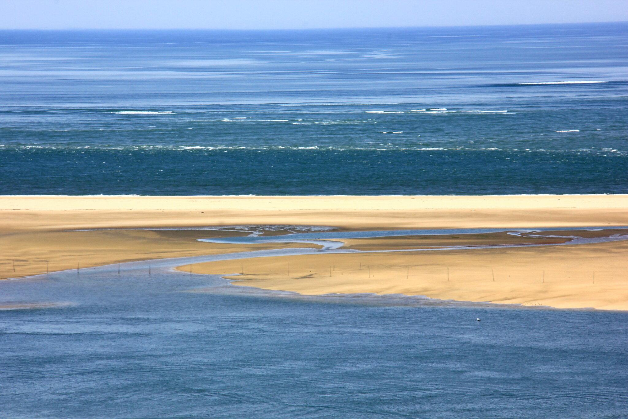 sand dunes of dune de pilat